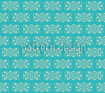 Turquoise Royal Seamless Pattern