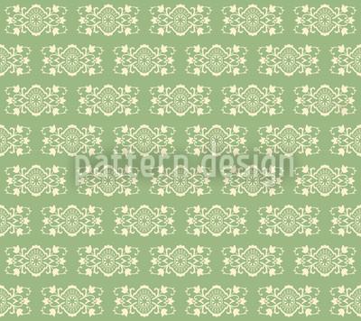 Pistazie Royal Nahtloses Vektor Muster