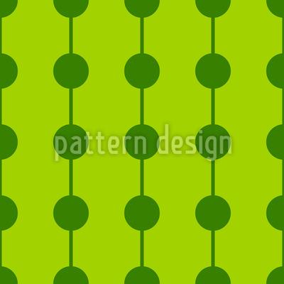 Stränge mit Punkten Rapportiertes Design