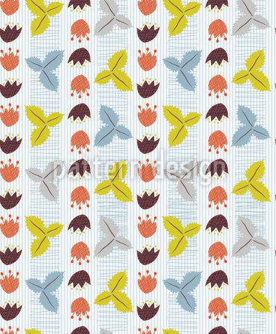 Woodland Foliage Seamless Pattern