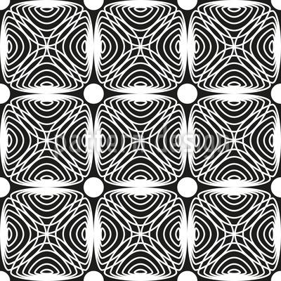 Hypnotische Karos Vektor Muster