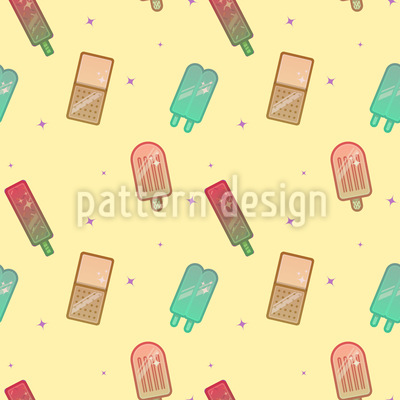 Funky Popsicles Repeat Pattern