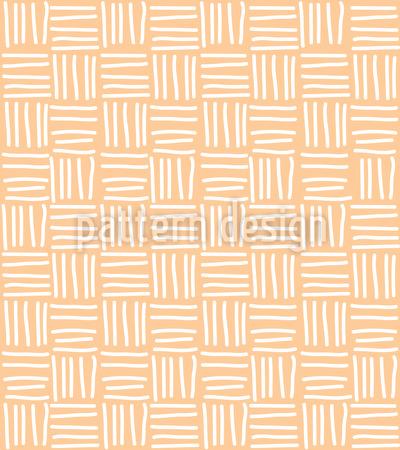 Abgestrichene Linien Musterdesign