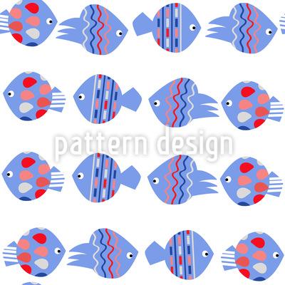 Fisch Strom Vektor Muster