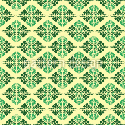 Orientalische Freude Muster Design