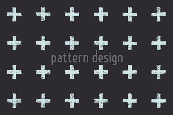 Cross Seamless Vector Pattern