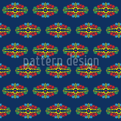 Greetings From Bali Vector Pattern