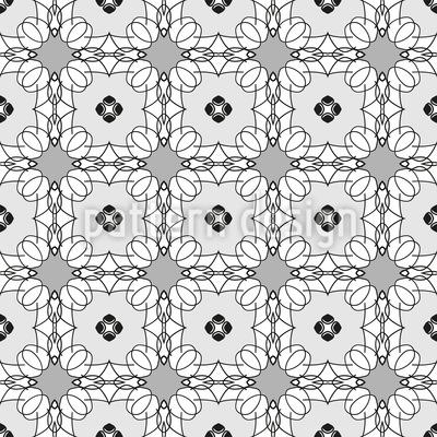Blumennetz Vektor Design