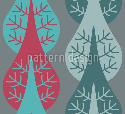 Vertical Trees Pattern Design