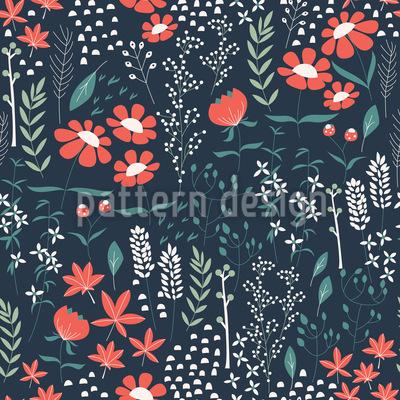 Spring garden Pattern Design