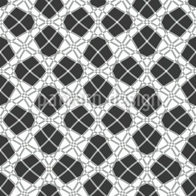 Eingebettet Im Netz Musterdesign