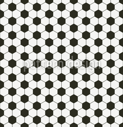 Soccer Checkered Design Pattern