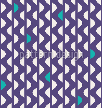 Wave Stripes Seamless Vector Pattern