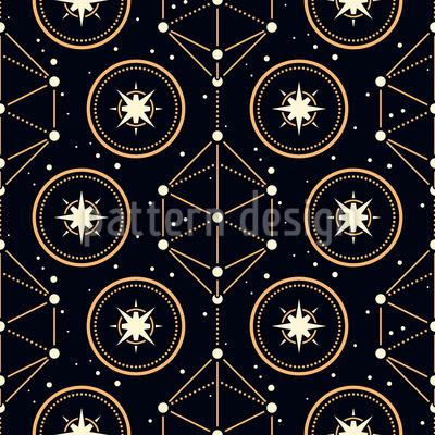Magische Astrologie Muster Design