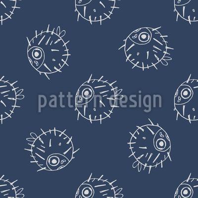 Kugelfisch Vektor Muster