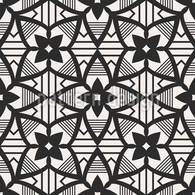 Mosaik Blüte Designmuster