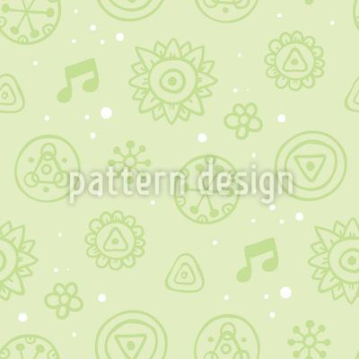 Sweet Blossoms Pattern Design