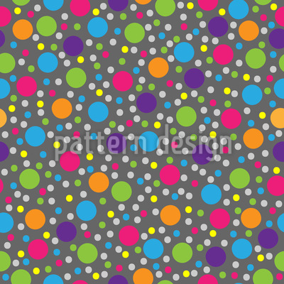 Multicolor Punkte Rapportiertes Design