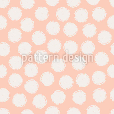 Hand Drawn Dots Vector Ornament