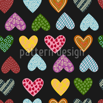 My Passion Seamless Vector Pattern