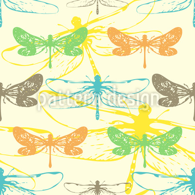Most Beautiful Dragonfly Vector Design