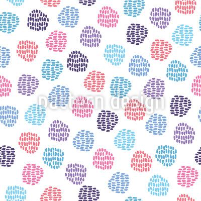 Mal Stunde Muster Design