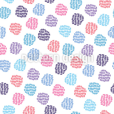 Painting Lesson Seamless Vector Pattern Design