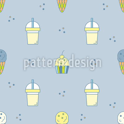 Sweet Summer Treats Pattern Design