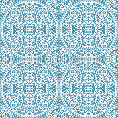 Ancient Elegance Vector Pattern