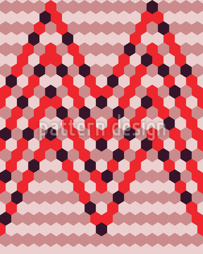 Beehive Chevrons Vector Design