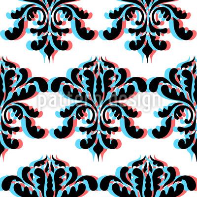 3D Barock Musterdesign