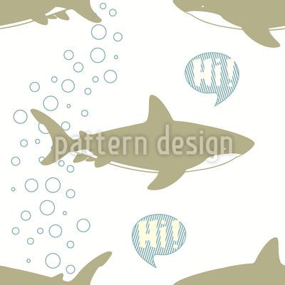 Grüssende Haie Vektor Design
