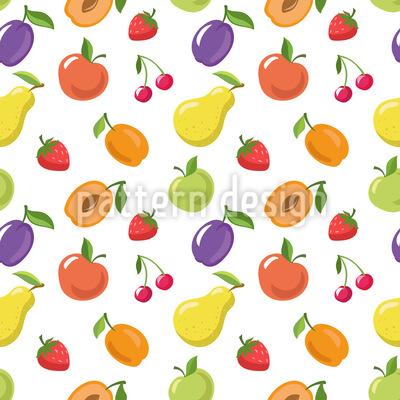 Sommerfrüchte Musterdesign