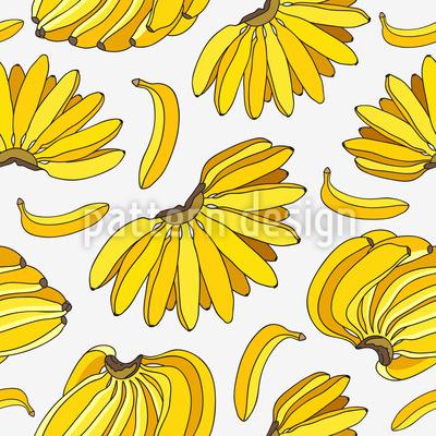 Reife Bananen Rapportiertes Design