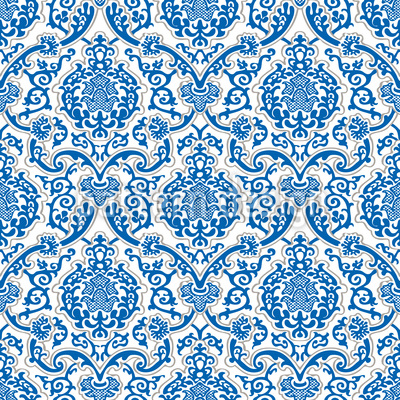 Renaissance Damask Vector Ornament