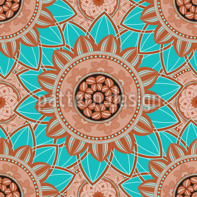 Lagoon Mandala Design Pattern