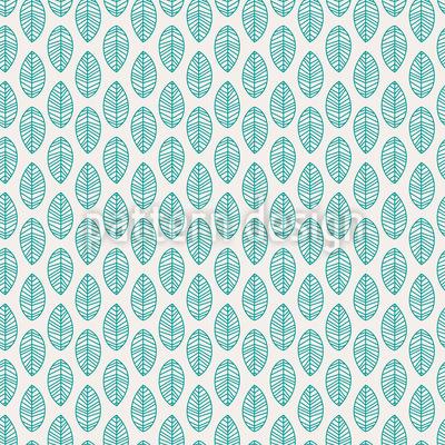 Blatt Einfachheit Nahtloses Vektor Muster