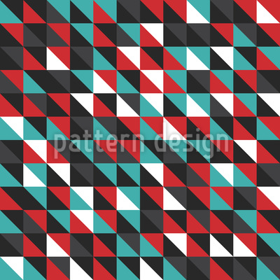 Diagonal Mosaik Rapportmuster