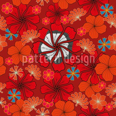 Flowers Of Joy Pattern Design