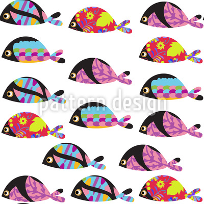 Disco Fish Design Pattern