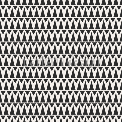 Art Deco Zig Zag Seamless Pattern