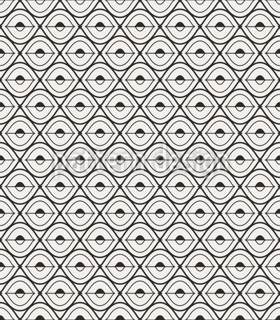 Des Sehers Auge Vektor Muster