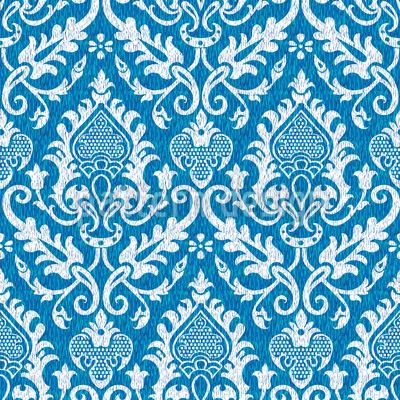 Mittelalterlicher Wandteppich Rapportiertes Design