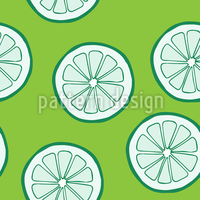Lime Seamless Vector Pattern Design