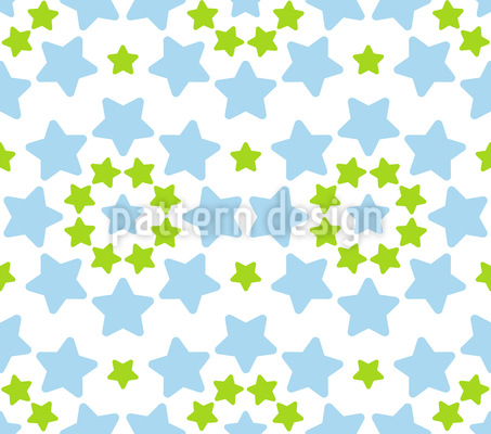 Stars Circle Dance Vector Ornament