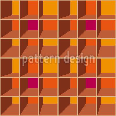 3D Regal Vektor Muster