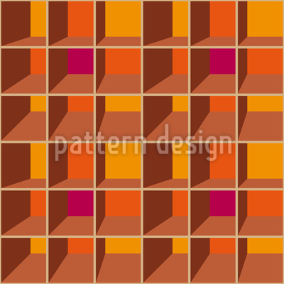 3D Shelf Vector Pattern