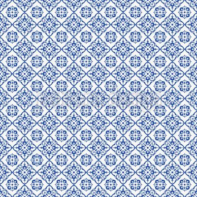 Mediterranean Dream Seamless Vector Pattern Design