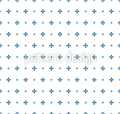 Monochrome Crosses Seamless Vector Pattern
