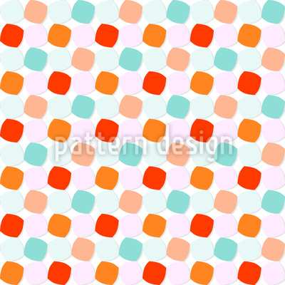 Pillow Dots Repeat Pattern